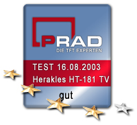 Testlogo Herakles HT-181 TV