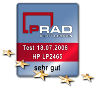 PRAD.de rating: very good