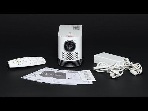 LG Beamer HF80JS ist ein 2 kg leichter Smart-TV (Hands on)