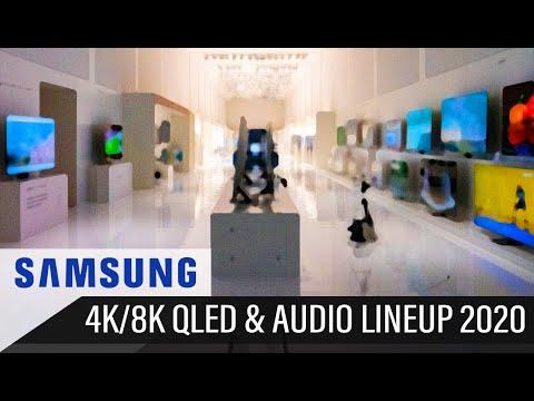 SAMSUNG TV & AUDIO LINEUP 2020 (TU7100, TU8000, Q60T, Q70T, Q80T, Q90T, Q95T, Q800T, Q950TS...)