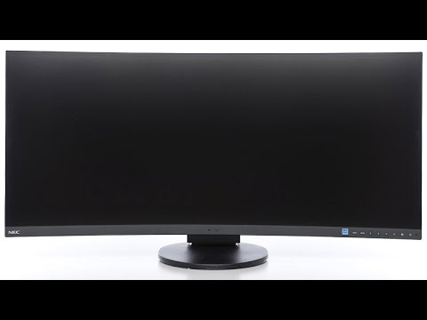 34 Zoll Curved-Monitor NEC EX341R (Hands on)