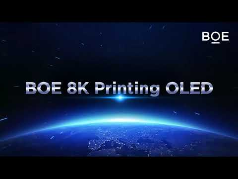 BOE 55-inch 8K inkjet printed OLED at SID Displayweek 2020