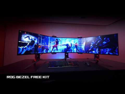 Create a Bezel Free Display with the ROG Bezel Free Kit