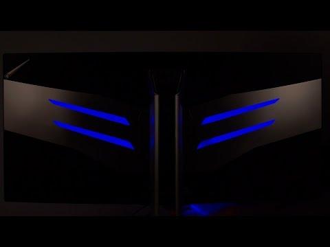 AOC AGON AG352UCG 100 Hz mit G-Sync (Hands on Video)