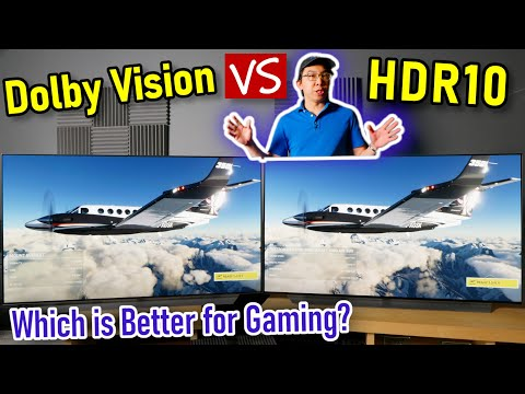 Dolby Vision vs HDR10 Gaming (Tested on 2 Xbox Series X & LG C1 OLED)