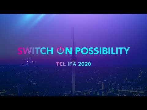 TCL@IFA Berlin 2020 livestreaming