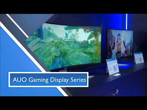 【SID Display Week 2021】AUO Gaming Display Series