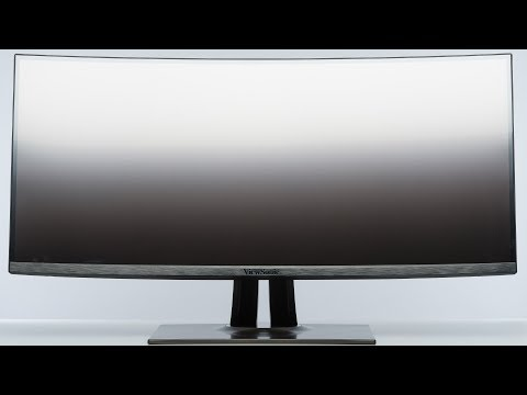 38 Zoll Curved Monitor ViewSonic VP3881 (Hands on)