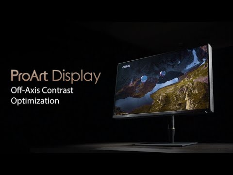 ProArt Display Off-Axis Contrast Optimization Technology | ASUS