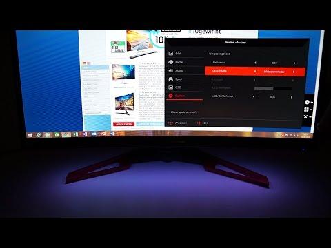 Top Gaming-Monitor Acer Predator Z271 mit überdurchschnittlicher Austattung