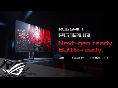 Next-gen ready, Battle-ready –ROG Swift PG32UQ | ROG
