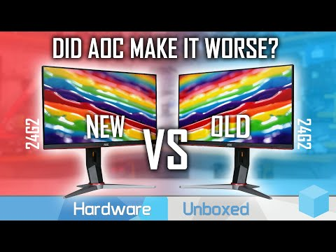Sneakily Updated: AOC 24G2 New vs Old Comparison, Still Worth Buying?