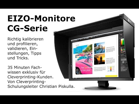 Kalibration eines Eizo CG247X Monitors