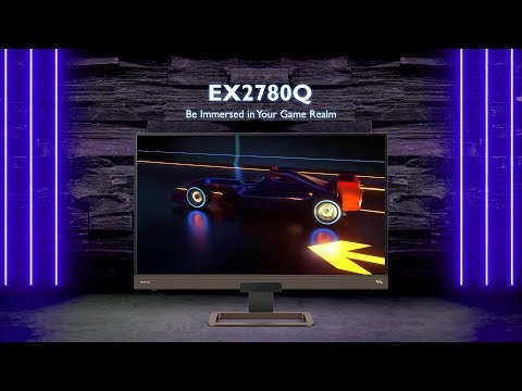 BenQ Gaming Monitor EX2780Q Product Introduction Video