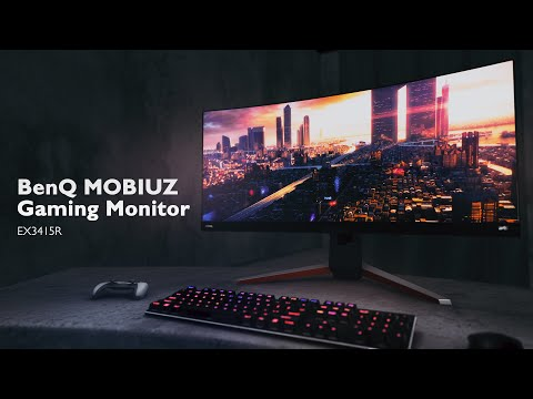 BenQ MOBIUZ EX3415R Ultrawide Curved Gaming Monitor
