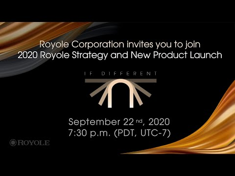 2020 Royole Strategy and New Product Launch