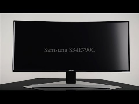 PRAD: Hands on Samsung S34E790C Curved Monitor
