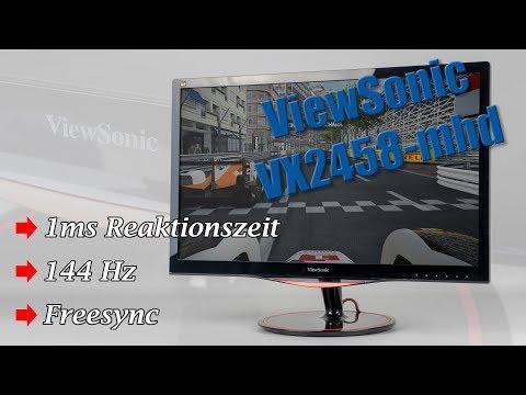 ViewSonic VX2458-mhd – Gaming-Monitor Neuheit