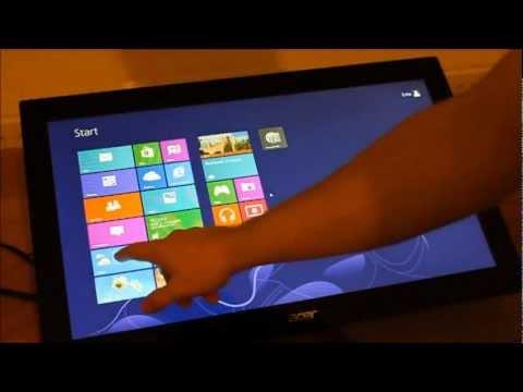 PRAD: Hands on Acer T232HLbmidz