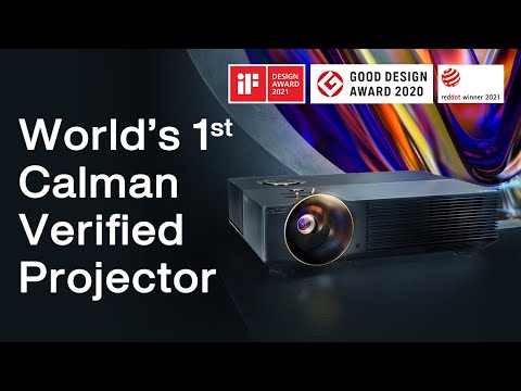 ProArt Projector A1 - World's First Calman Verified Projector for Creators   ASUS