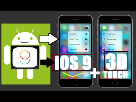 MAKE YOUR ANDROID LIKE iOS 9 ( 3D TOUCH FEATURE !! )