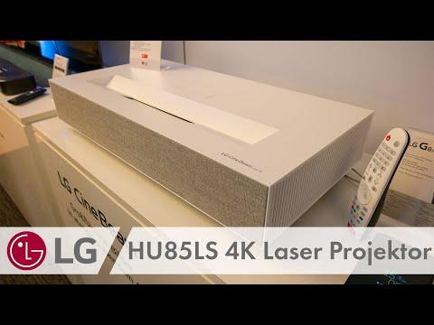 LG HU85LS - CineBeam 4K HDR Laser Projektor 2019 mit 2.700 Lumen!
