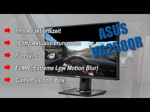 ASUS VG258QR 165 Hz Gaming-Monitor ohne Lag
