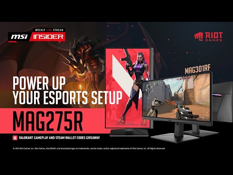 MAG275R Series - Power Up Your eSports Setup