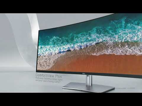 """Dell unveils 40"""" curved monitor U4021QW - announcement video"""