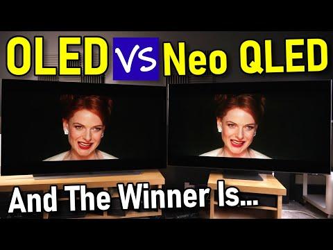 LG OLED vs Samsung Neo QLED Mini LED TV Comparison