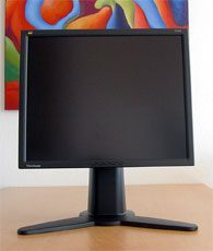 Viewsonic Vp191b Monitor 181b Hoch