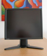Viewsonic Vp191b Monitor 181b Normal