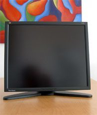 Viewsonic Vp191b Monitor 181b Unten