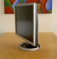 Vision Magic T19ds Monitor T19ds Seitlich
