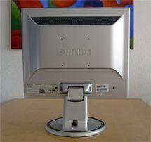 Philips 190s5cs Monitor 190s5 Back Hoch