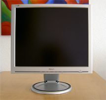 Philips 190s5cs Monitor 190s5 Front Hoch