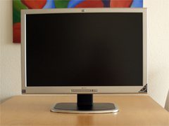 Hp L2335 Monitor Hp 2335 Front