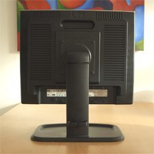 Monitor Hp L1955 Back