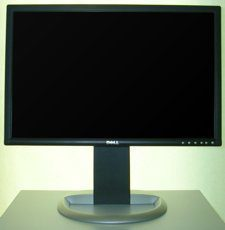 Dell 2405fpw Monitor Dell 2405fpw Hoehe Max