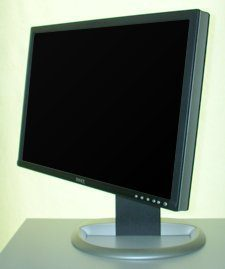 Dell 2405fpw Monitor Dell 2405fpw Linksschwenk