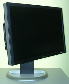 Dell 2405fpw Monitor Dell 2405fpw Rechtsschwenk