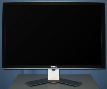 Dell 3007wfp Monitor Dell 3007wfp Frontseite Maxhoehe