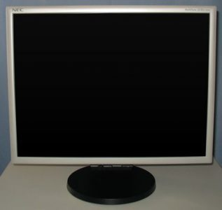 Nec Lcd2170nx Bk Monitor Nec Lcd2170nx Frontseite