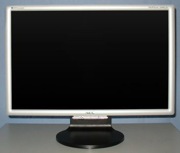 Nec Lcd20wgx2 Monitor Nec 20wgx2 Frontseite