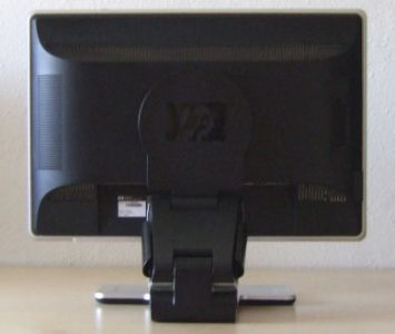 Hp Pavilion W2207 Monitor 02 Hp W2207