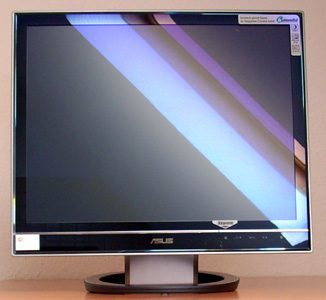 Asus Ls201 Monitor Asus Ls201 Front2