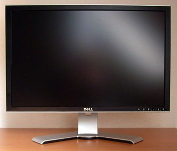 Dell 2407wfp Hc Monitor Dell2407wfphc Front1