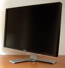 Dell 2407wfp Hc Monitor Dell2407wfphc Front4