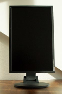 Eizo S2231we Bk Monitor Eizo S2231we Pivot Up