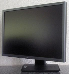Acer B223w Monitor Acer B223w Seite Links